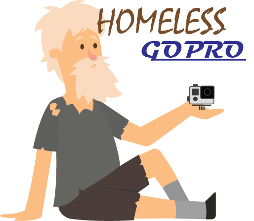 Homeless GoPro