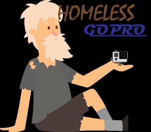 Homeless GoPro